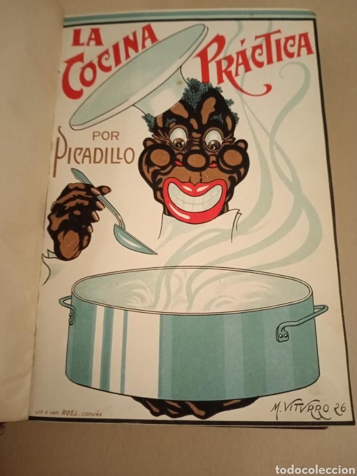 LA COCINA PRÁCTICA POR PICADILLO ED 1916 SÉPTIMA EDICIÓN (Libros Antiguos, Raros y Curiosos - Cocina y Gastronomía)