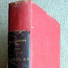 Libros antiguos: FÁBULAS DE MIGUEL AGUSTÍN PRÍNCIPE. Lote 218035601