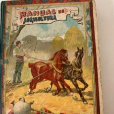 Libros antiguos: MANUAL DE AGRICULTURA. Lote 218113171