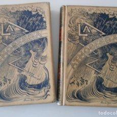 Libros antiguos: LA ATMOSFERA. LOS GRANDES FENOMENOS DE LA NATURALEZA. OBRA DE 2 TOMOS DE CAMILO FLAMMARION. TRADUCID. Lote 218186672