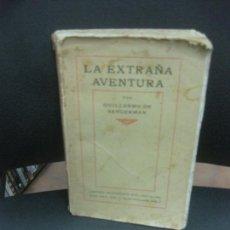 Libros antiguos: GUILLERMO DE SANGERMAN. LA EXTRAÑA AVENTURA. LIBRERIA DE FRANCISCO PUIG 1915.. Lote 218189125