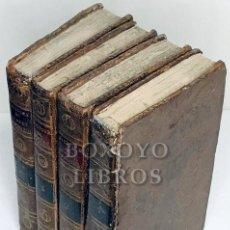 Libros antiguos: MONTJOYE, L.F.C. HISTOIRE DE QUATRE ESPAGNOLS, PAR /. TOMS. I-II-III-IV. 1810. Lote 218203557