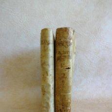 Libros antiguos: LIBRO EXAMEN DE LA CRISIS MAESTRO BENITO GERONIMO FEIJOO ARTE LULIANA AÑO 1749 2 RAMON LLULL. Lote 218285700