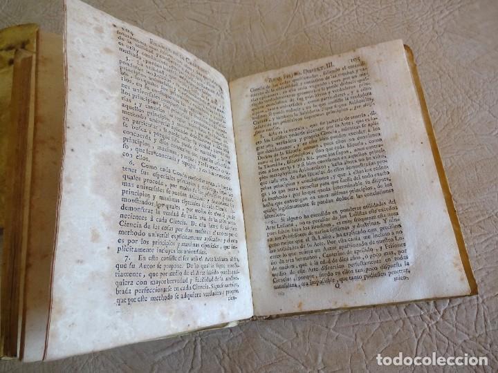 Libros antiguos: libro examen de la crisis maestro benito geronimo feijoo arte luliana año 1749 2 ramon llull - Foto 9 - 218285700