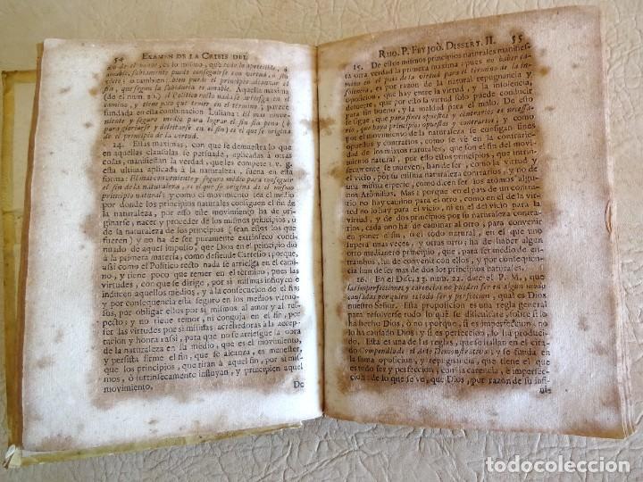 Libros antiguos: libro examen de la crisis maestro benito geronimo feijoo arte luliana año 1749 2 ramon llull - Foto 19 - 218285700