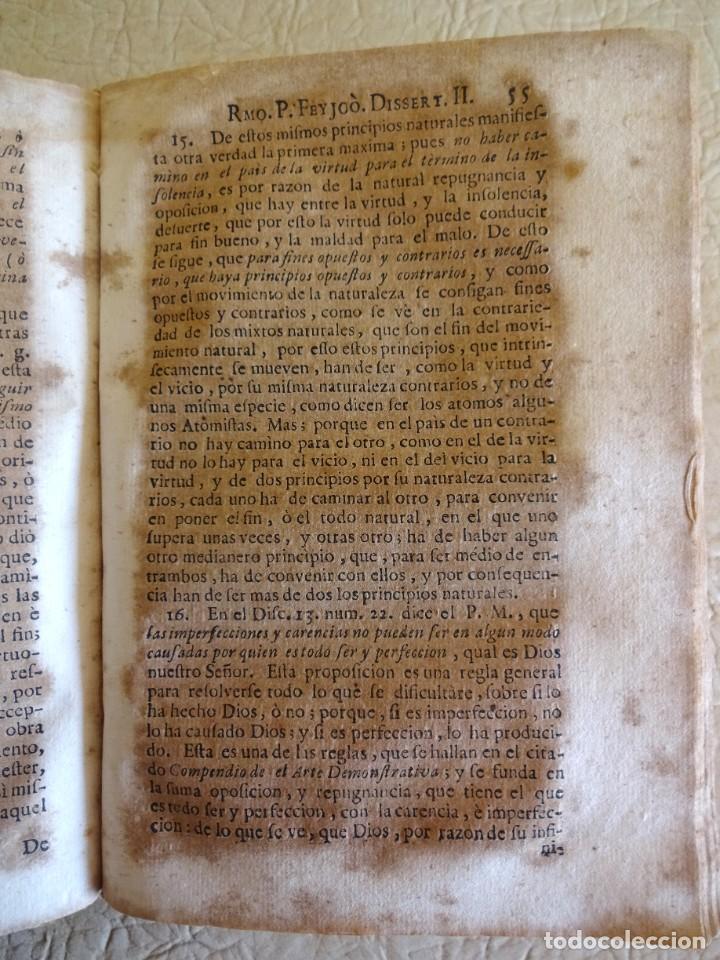 Libros antiguos: libro examen de la crisis maestro benito geronimo feijoo arte luliana año 1749 2 ramon llull - Foto 20 - 218285700