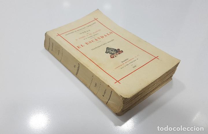 1936., EL ESCÁNDALO. PEDRO A. DE ALARCÓN. SUCESORES DE RIVADENEYRA. MADRID, (Libros Antiguos, Raros y Curiosos - Literatura - Otros)