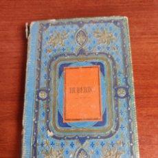 Libros antiguos: HUBERTO LOS FUNESTOS EFECTOS DE LA PEREZA E INDOCILIDAD POR J.R BARCELONA 1867. Lote 218504968