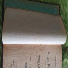 Libri antichi: JUEGOS FLORALES AVILES 1904 FOLLETÍN DE EL DIARIO DE AVILES LIBRO 124 PAGS. Lote 218504975