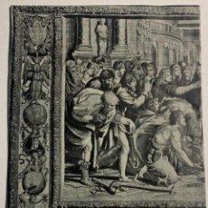 Libros antiguos: LA COLECCIÓN NACIONAL DE TAPICES. PROTECCIÓN DEL TESORO ARTÍSTICO NACIONAL. GUERRA CIVIL. Lote 218555905