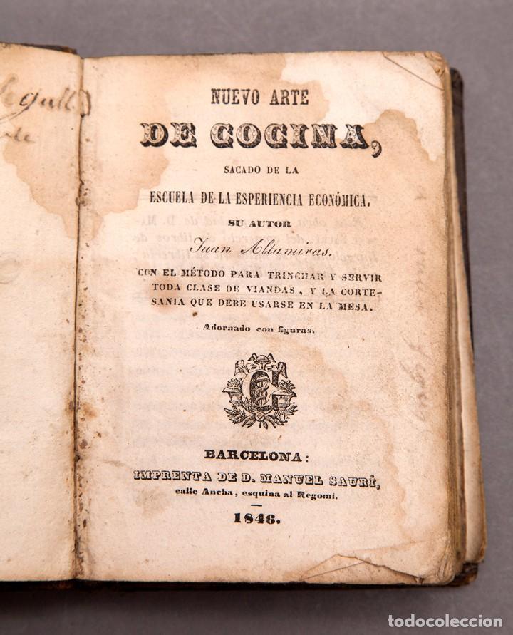 NUEVO ARTE DE LA COCINA - 1846 (Libros Antiguos, Raros y Curiosos - Cocina y Gastronomía)