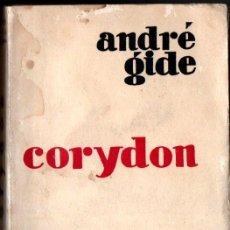 Libros antiguos: ANDRÉ GIDE : CORYDON (ORENTE, 1929)). Lote 218716813