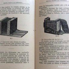 Livres anciens: MANUAL PRÁTICO DE FOTOGRAFIA. POR ADALBERTO VEIGA, 1932. ILUSTRADO. EN PORTUGUÉS.. Lote 218748240