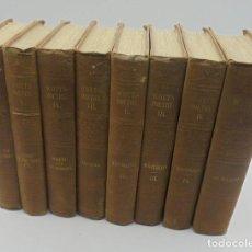 Libros antiguos: SIR WALTER SCOTT. 8 VOLÚMENES. LAS OBRAS POÉTICAS. 1848. LEER DESCRIPCION.. Lote 218776716