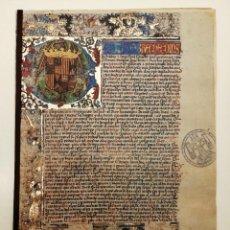 Libros antiguos: FACSÍMIL PRIVILEGIO MERCADO CIUDAD DE BURGOS, (TIRADA LIMITADA NUMERADA) Nº 748. Lote 218879215