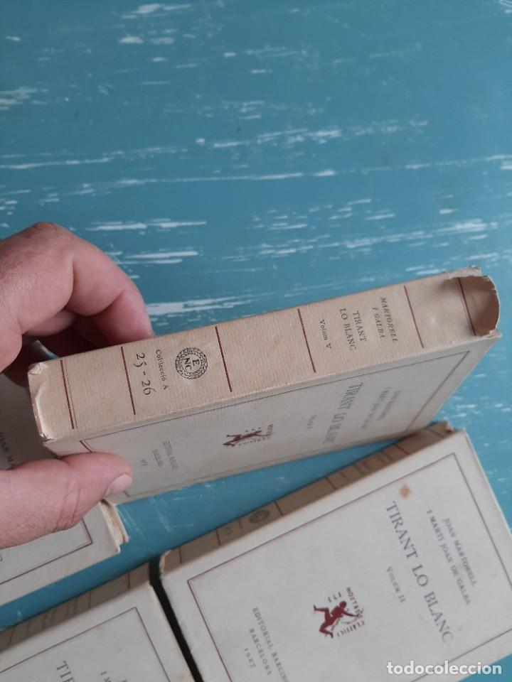 Libros antiguos: Tirant lo blanc/ vol. 2,3,4,5 ... ed.barcino Barcelona, 1927-29 - Foto 4 - 218896830