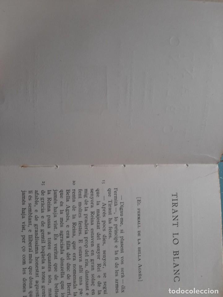 Libros antiguos: Tirant lo blanc/ vol. 2,3,4,5 ... ed.barcino Barcelona, 1927-29 - Foto 13 - 218896830
