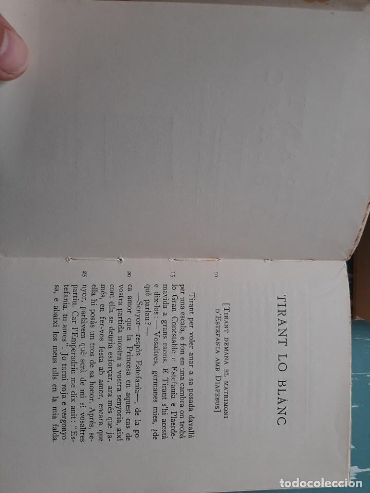 Libros antiguos: Tirant lo blanc/ vol. 2,3,4,5 ... ed.barcino Barcelona, 1927-29 - Foto 20 - 218896830