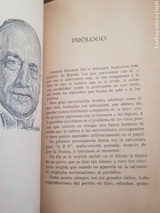 Libros antiguos: Chistes y Viñetas ,Tomo 1 J.Xaudaró años 1936 - Foto 2 - 218901312