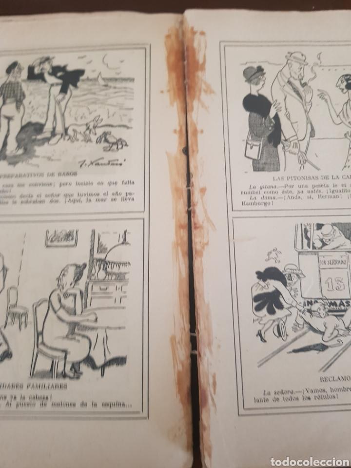 Libros antiguos: Chistes y Viñetas ,Tomo 1 J.Xaudaró años 1936 - Foto 4 - 218901312