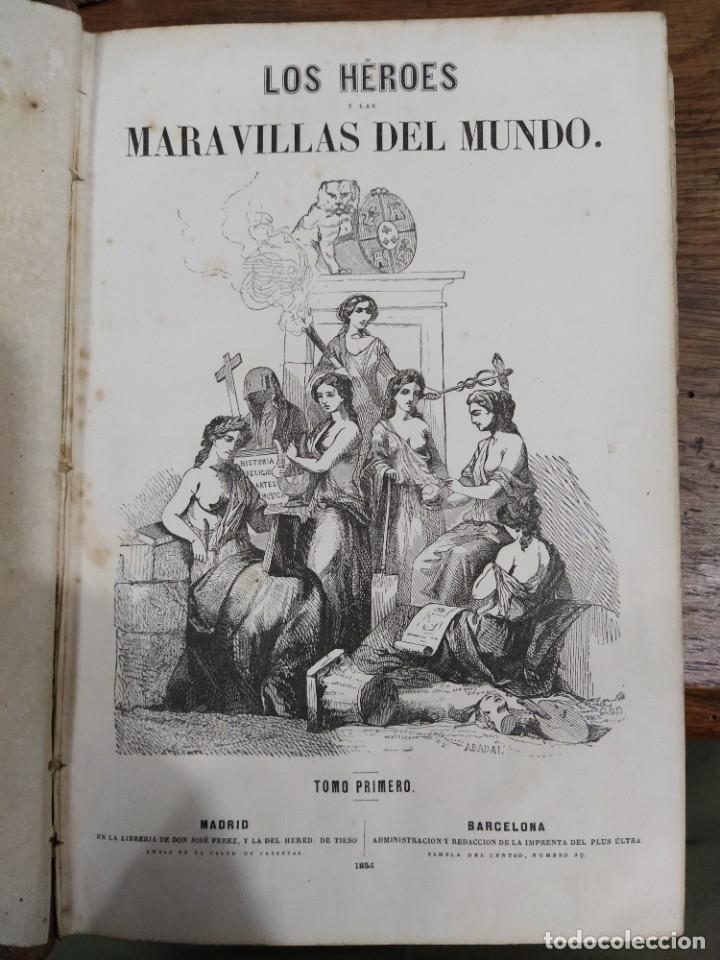 Libros antiguos: Los Héroes - Foto 3 - 218992510