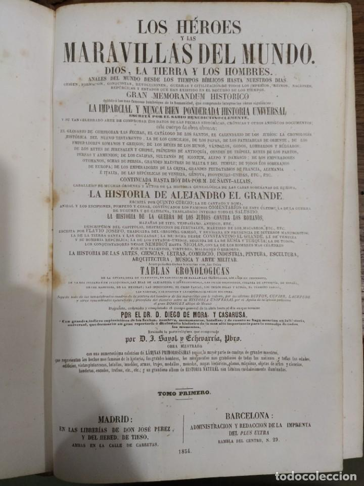 Libros antiguos: Los Héroes - Foto 4 - 218992510