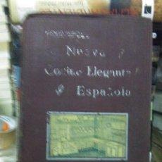 Livres anciens: IGNACIO DOMENECH.LA NUEVA COCINA ELEGANTE ESPAÑOLA.EDITORIAL HELENICA. Lote 219088215