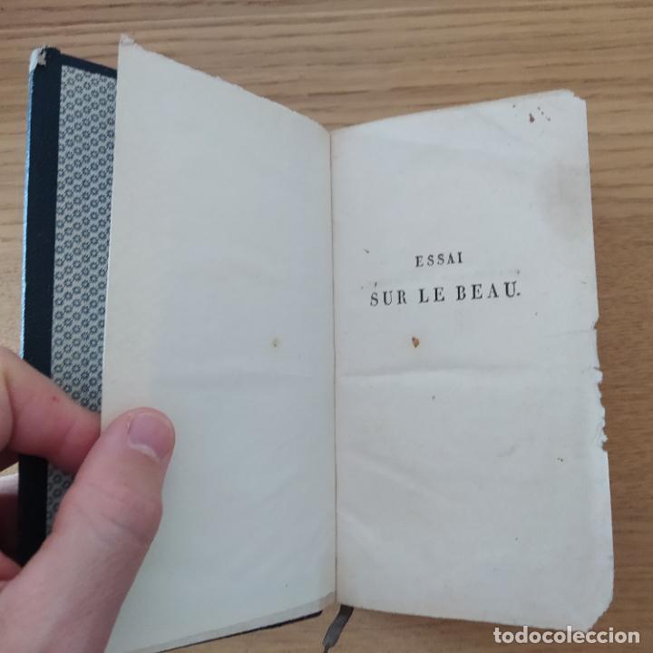Libros antiguos: ESSAI SUR LE BEAU ,ANDRE (Père Yves-Marie). Paris, chez Babeuf, 1820 - Foto 6 - 219169307