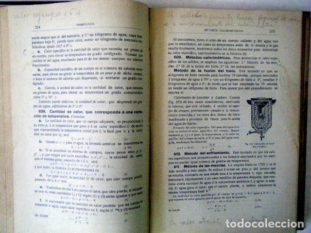 Libros antiguos: ELEMENTOS DE FÍSICA MODERNA. MARCOLÁIN. - Foto 3 - 219201823