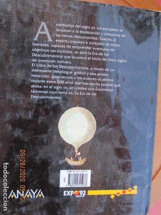 Libros antiguos: EL LIBRO DE LOS DESCUBRIMIENTOS - VICTOR NAVARRO -Victoria Rosselló / Vicente Salavert - Foto 4 - 219221620