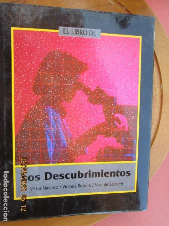 EL LIBRO DE LOS DESCUBRIMIENTOS - VICTOR NAVARRO -VICTORIA ROSSELLÓ / VICENTE SALAVERT (Libros Antiguos, Raros y Curiosos - Ciencias, Manuales y Oficios - Otros)