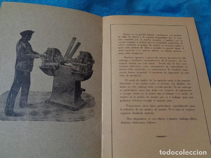 Libros antiguos: CATALOGO DE MAQUINAS PARA AFILAR...EN ESPAÑOL - años 20/30 - Foto 2 - 219230185