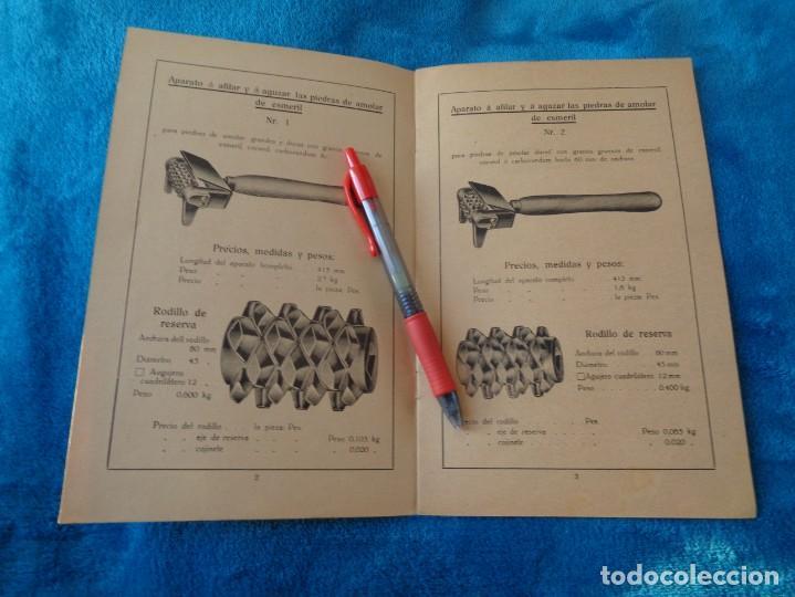 Libros antiguos: CATALOGO DE MAQUINAS PARA AFILAR...EN ESPAÑOL - años 20/30 - Foto 3 - 219230185