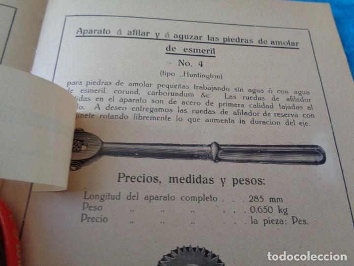 Libros antiguos: CATALOGO DE MAQUINAS PARA AFILAR...EN ESPAÑOL - años 20/30 - Foto 5 - 219230185