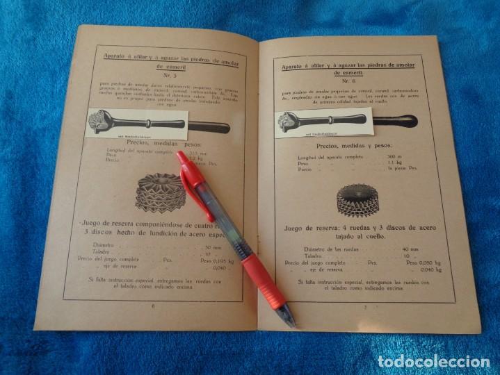 Libros antiguos: CATALOGO DE MAQUINAS PARA AFILAR...EN ESPAÑOL - años 20/30 - Foto 6 - 219230185