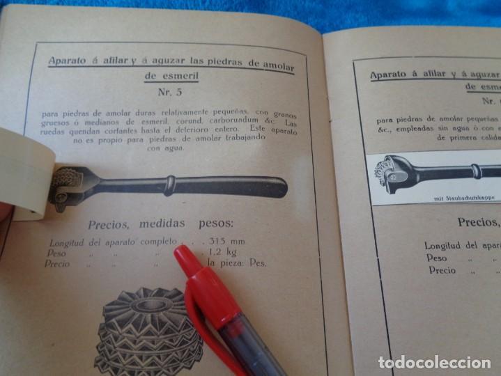 Libros antiguos: CATALOGO DE MAQUINAS PARA AFILAR...EN ESPAÑOL - años 20/30 - Foto 7 - 219230185