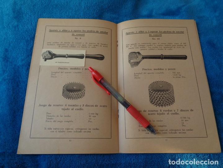 Libros antiguos: CATALOGO DE MAQUINAS PARA AFILAR...EN ESPAÑOL - años 20/30 - Foto 9 - 219230185