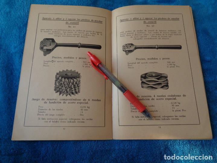 Libros antiguos: CATALOGO DE MAQUINAS PARA AFILAR...EN ESPAÑOL - años 20/30 - Foto 10 - 219230185