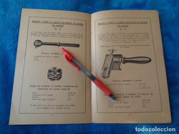 Libros antiguos: CATALOGO DE MAQUINAS PARA AFILAR...EN ESPAÑOL - años 20/30 - Foto 11 - 219230185