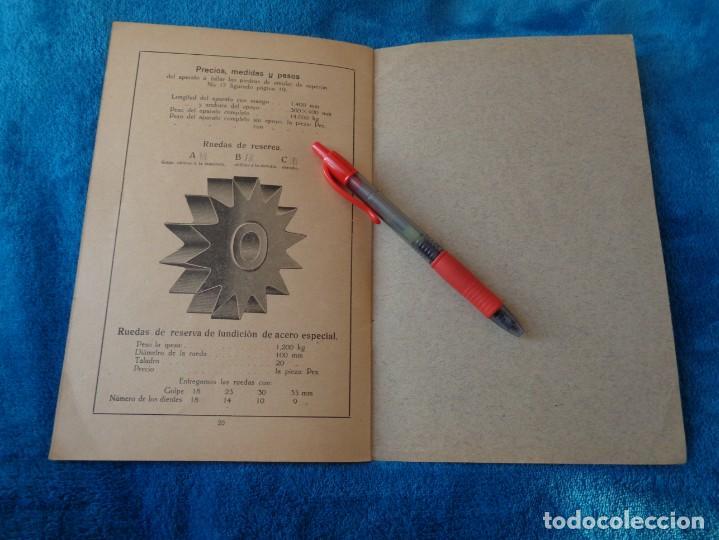 Libros antiguos: CATALOGO DE MAQUINAS PARA AFILAR...EN ESPAÑOL - años 20/30 - Foto 14 - 219230185