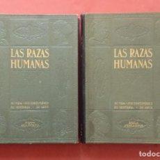 Libros antiguos: LAS RAZAS HUMANAS - INSTITUTO GALLACH - PRIMERA EDICION - 1928. Lote 219254601