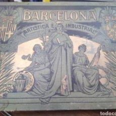 Libros antiguos: BARCELONA ARTÍSTICA E INDUSTRIAL-EMILIO CANET 1915-LUJOSO ÁLBUM FOTOGRÁFICO,ILUSTRADO PROFUSAMENTE. Lote 219270715