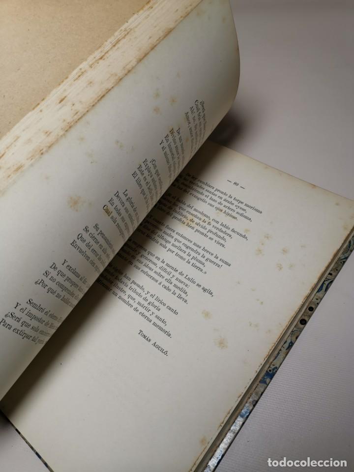 Libros antiguos: HOMENAGE AL BEATO RAIMUNDO LULL EN EL SEXTO CENTENARIO DE LA FUNDACION DEL COLEGIO MIRAMAR - 1877 - Foto 19 - 219275426