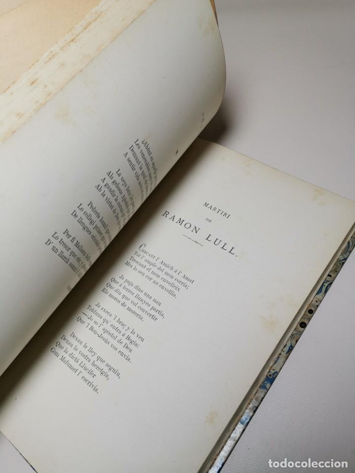 Libros antiguos: HOMENAGE AL BEATO RAIMUNDO LULL EN EL SEXTO CENTENARIO DE LA FUNDACION DEL COLEGIO MIRAMAR - 1877 - Foto 21 - 219275426