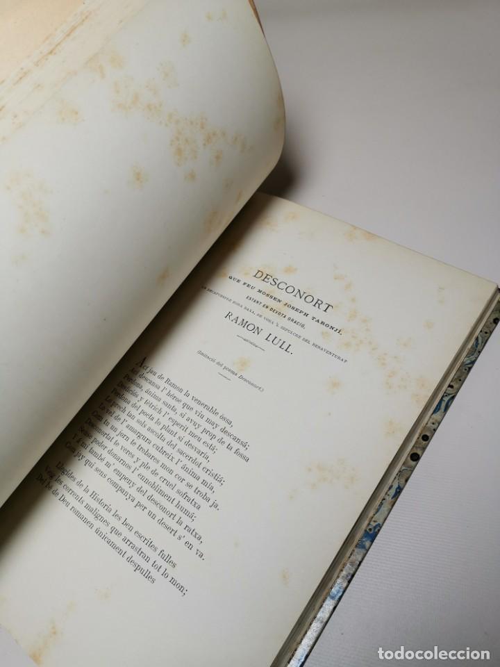 Libros antiguos: HOMENAGE AL BEATO RAIMUNDO LULL EN EL SEXTO CENTENARIO DE LA FUNDACION DEL COLEGIO MIRAMAR - 1877 - Foto 22 - 219275426