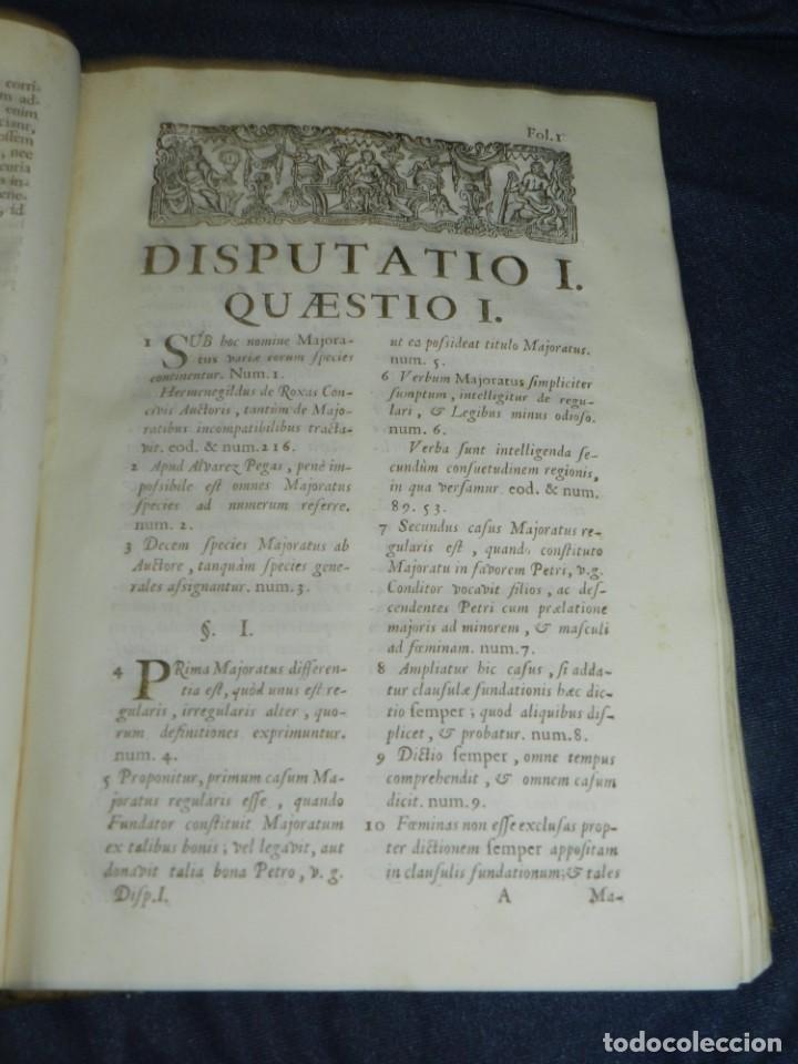 Libros antiguos: (MF) DD JOSEPHI EMMANUELIS DE ROXAS ET ALMANSA JC GRANATENSIS, MARIA DE JESÚS MADRID 1755 - Foto 4 - 219377195