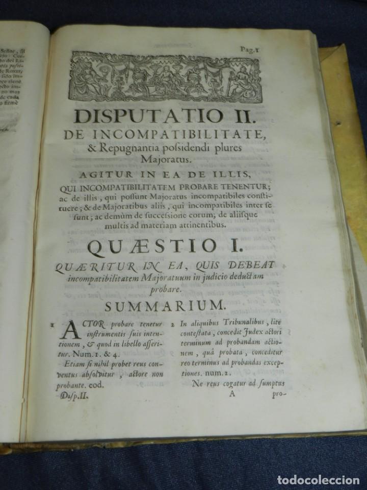 Libros antiguos: (MF) DD JOSEPHI EMMANUELIS DE ROXAS ET ALMANSA JC GRANATENSIS, MARIA DE JESÚS MADRID 1755 - Foto 5 - 219377195