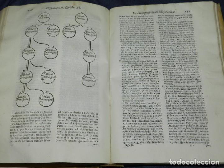 Libros antiguos: (MF) DD JOSEPHI EMMANUELIS DE ROXAS ET ALMANSA JC GRANATENSIS, MARIA DE JESÚS MADRID 1755 - Foto 6 - 219377195