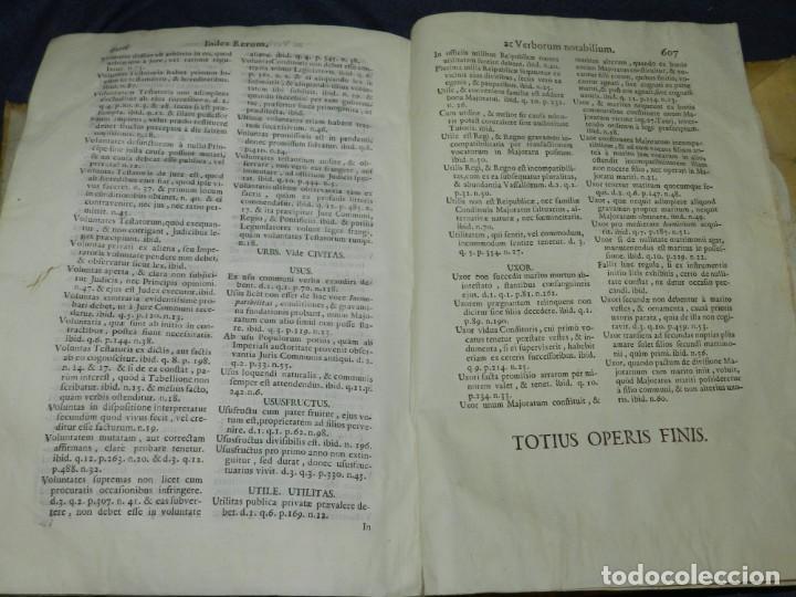 Libros antiguos: (MF) DD JOSEPHI EMMANUELIS DE ROXAS ET ALMANSA JC GRANATENSIS, MARIA DE JESÚS MADRID 1755 - Foto 8 - 219377195