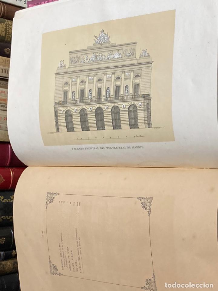 Libros antiguos: AÑO 1850 - MEMORIA HISTÓRICO ARTÍSTICA DEL TEATRO REAL DE MADRID POR MANUEL JUAN DIANA - LITOGRAFÍAS - Foto 3 - 219422920